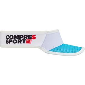 Compressport Spiderweb Ultralight Visiera, bianco/blu